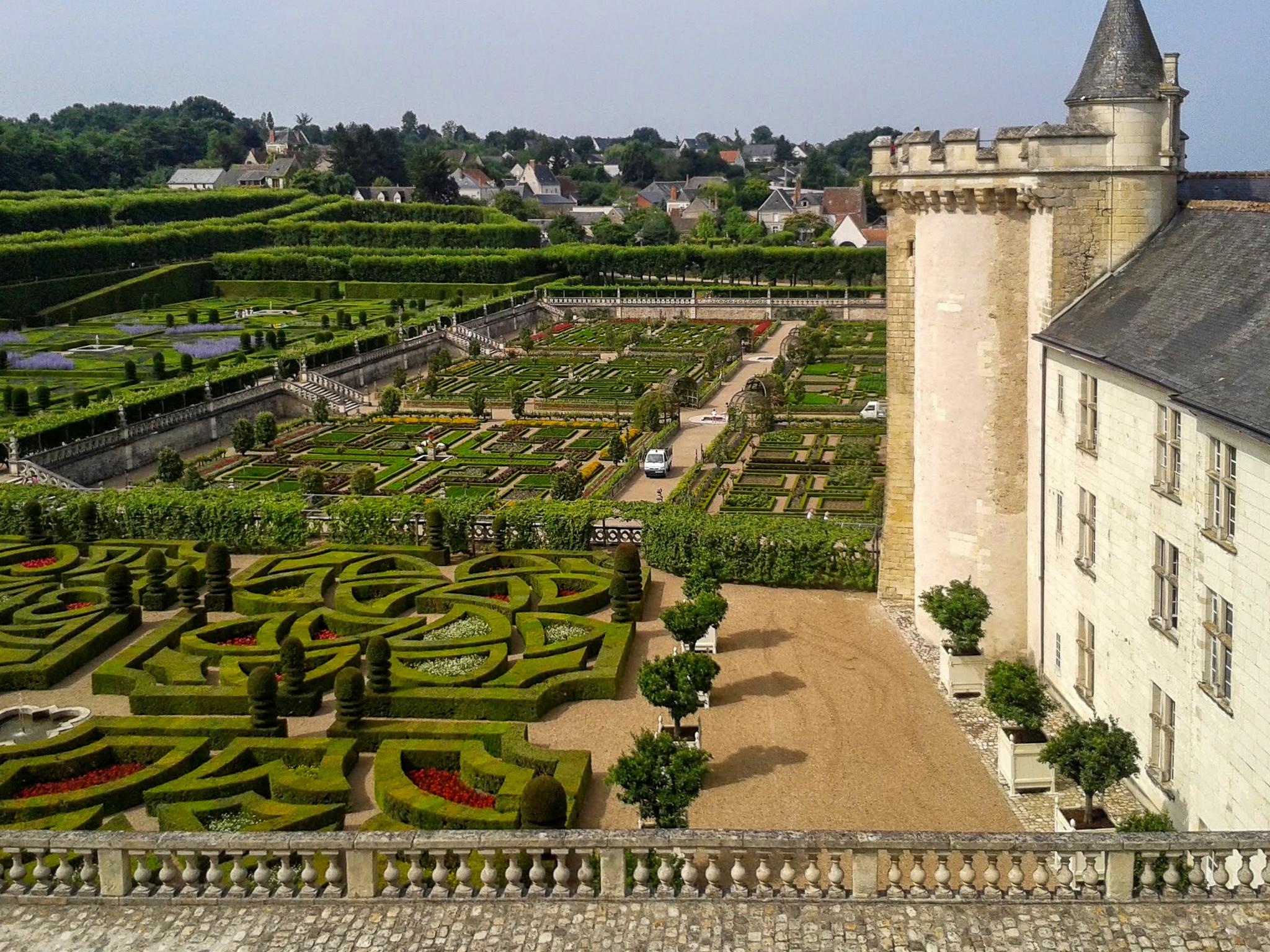 chateau et jardins