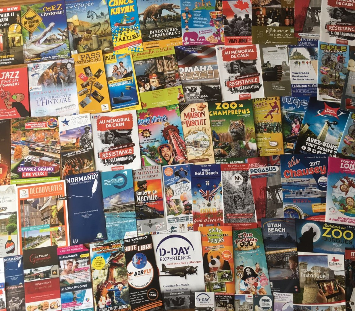 Family Fun Holidays Normandy Self Catering Lettings Leaflets