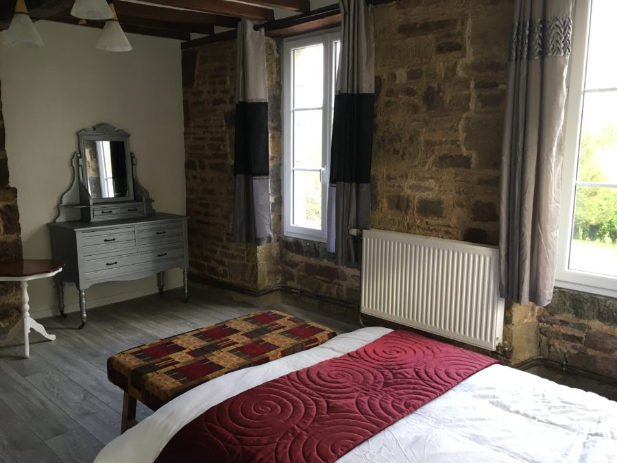 Family Fun Holidays Normandy Self Catering Lettings Main Bedroom 3