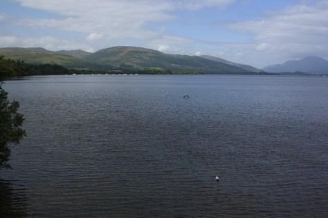 Schottland mit Kindern, Loch Lomond.