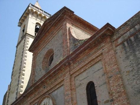 """Die kleine Kirche Santa Croce im Zentrum von Vinci enthielt möglicherweise einst eine Vorarbeit zu Leonardos """"Letzem Abendmahl""""."""