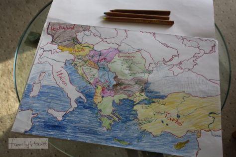 reisen mit Kindern durch europa