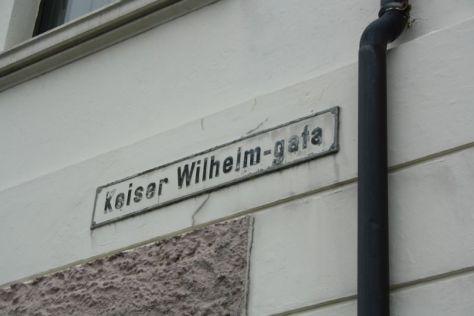 Auf den deutschen Kaiser ist man in Ålesund heute noch gut zu sprechen.