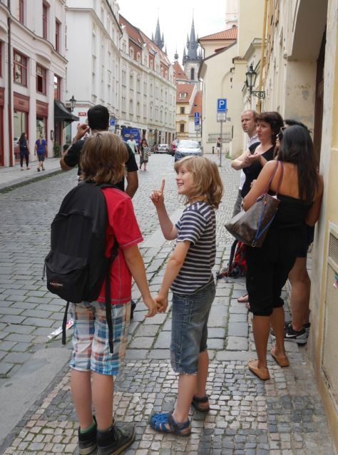 Eating Prague Tour mit Kindern, Sightseeing
