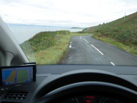 Linksverkehr Schottland