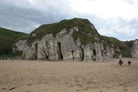 Roadtrip nach Irland mit Kindern, Nordirland, White Rock Beach