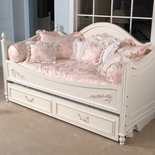 Isabella Pink Toile Day Bed Duvet With Filler