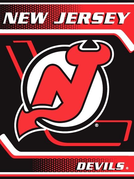 New Jersey Devils NHL Tie Dye 60 X 80 Super Plush Throw