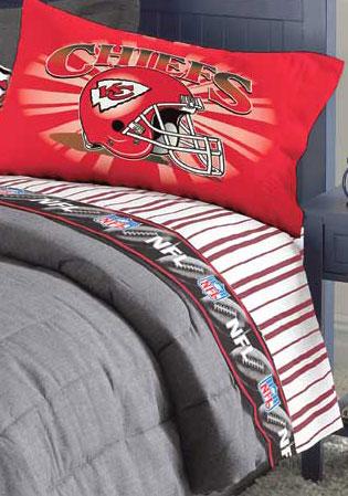 kansas city chiefs pillow case