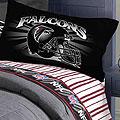 Atlanta Falcons 60 X 80 Stacked Silk Touch Plush Blanket