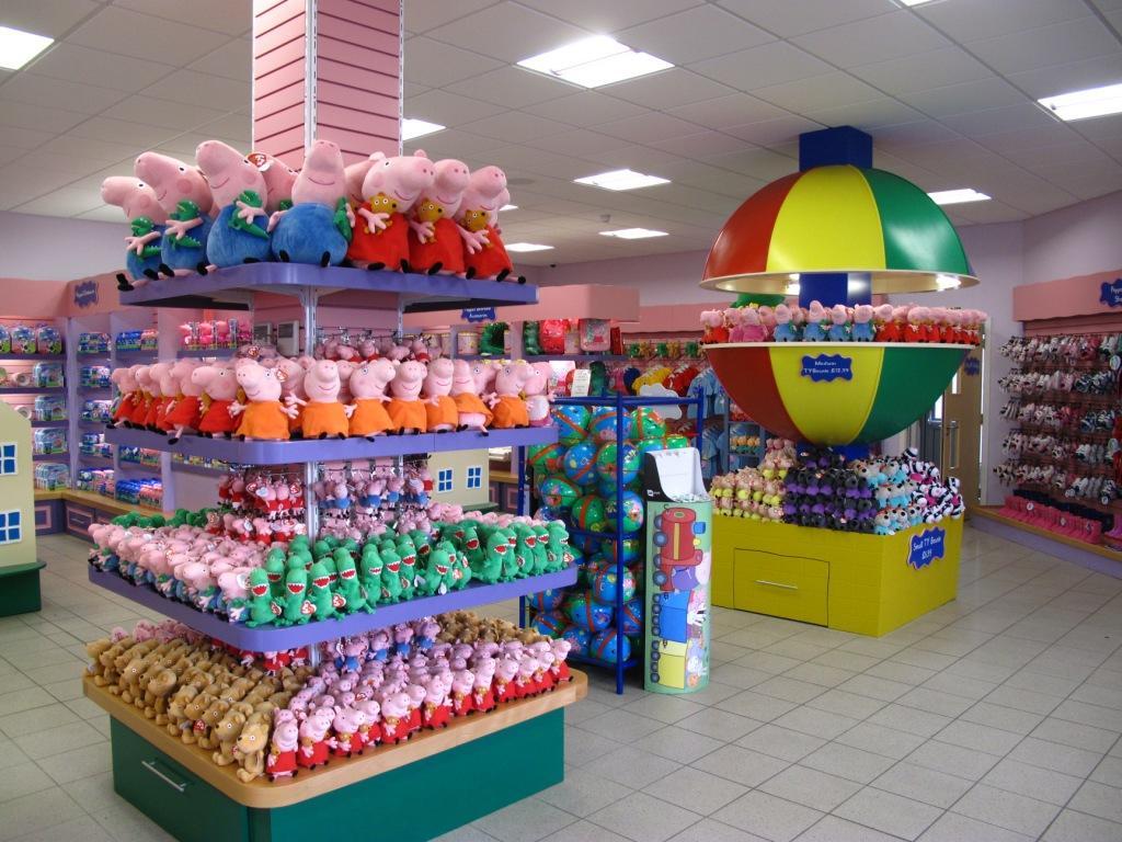 peppa pig world shop