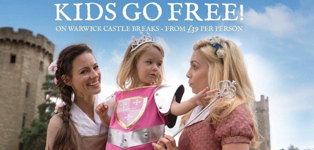 warwick castle glamping