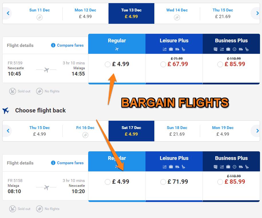 bargain-malaga-flights