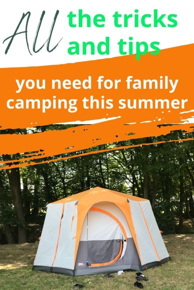 first time camping hints and tips