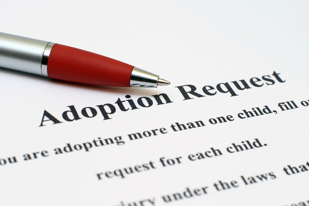 adoption papers