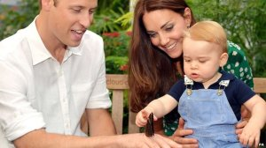 The Duke & Duchess of Cambridge & Prince George