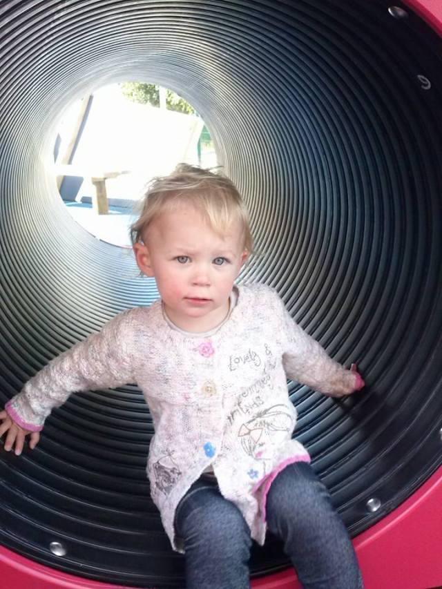 Olivia aged 2