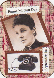 Family Clan Blog Sept 1 - Emma M Nutt Day