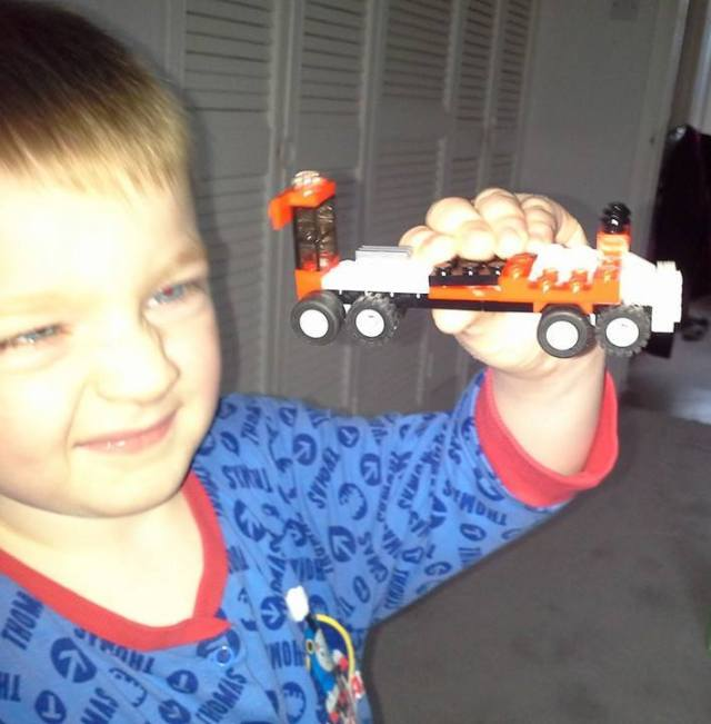 Family Clan Blog Jake Lego Truck