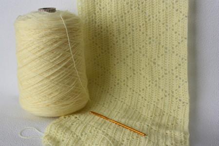 Family clan Blog Diamond Design Baby Blanket Crochet