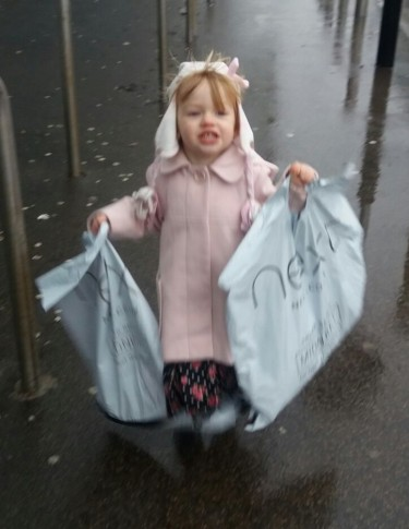 Grace has been shopping Family Clan Blog