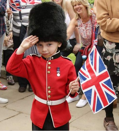 Little Soldier Majesty Queen 90th Birthday