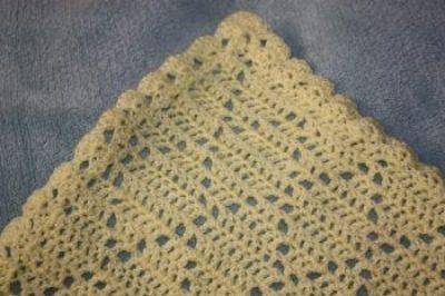 Crochet Diamond Blanket Afghan Family Clan