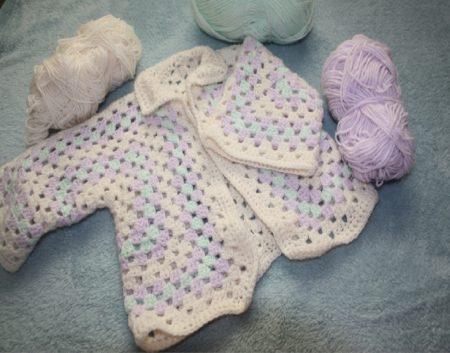 Crochet Cardigans Pattern Wool Family Clan