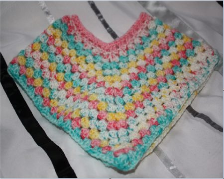 Crochet Hat Poncho Grand Daughter Family Clan Blog
