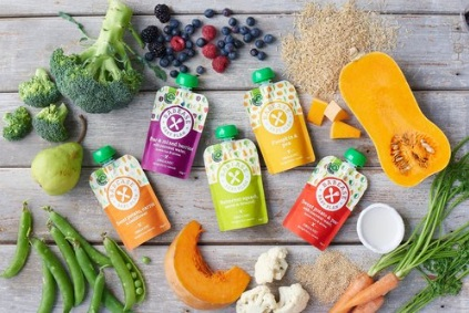Babease Organic Baby Food Pouches
