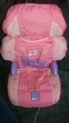Casdon Baby Huggles Car Booster Seat Family Clan
