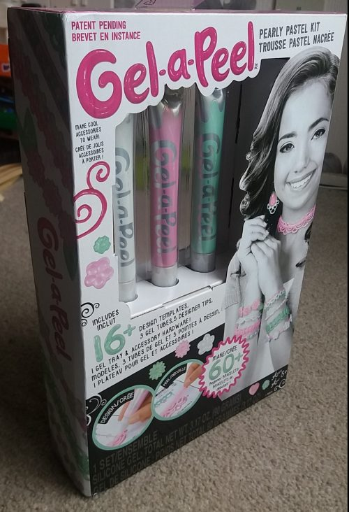 Gel-a-Peel Pearly Pastel Kit Review Family Clan