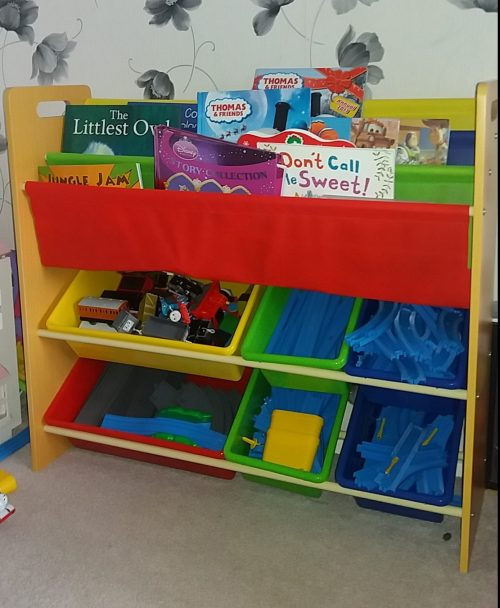 Songmics Storage unit and book shelf review by Family Clan