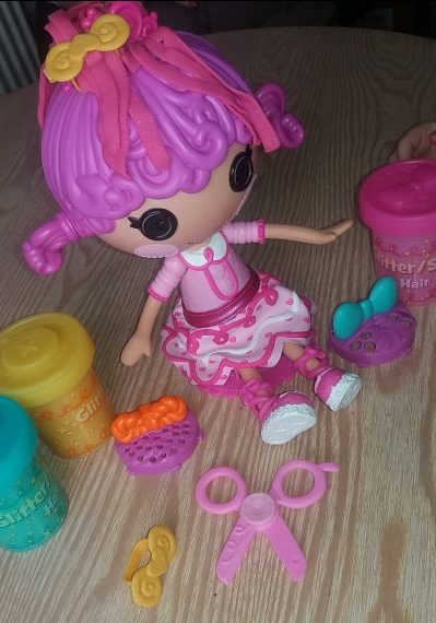 Lalaloopsy Glitter Hair Dough Family Clan