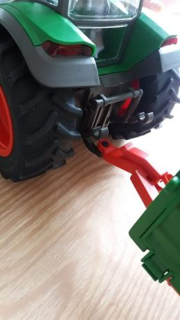 Schleich Tractor and Trailer Farm World Review Family Clan Blog
