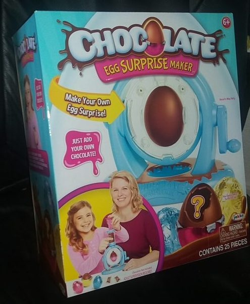 Chocolate Egg Surprise Maker Review Family Clan