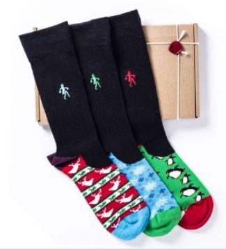 Quiet Rebellion Christmas Xmas Sock Range