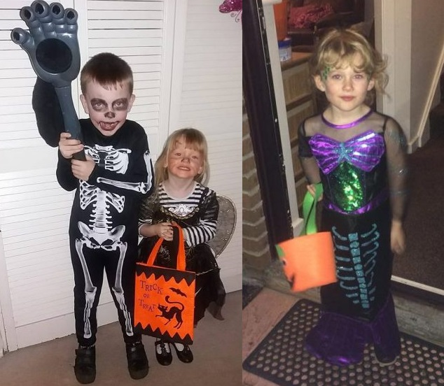 Trick or Treating October 2017