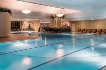 Ragdale Hall spa main swimming pool