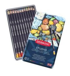 Derwent Colour Pencils Studio 12 Giveaway with Family Clan