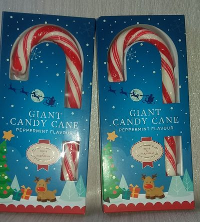 Christmas Eve Box Chocolates Candy Canes