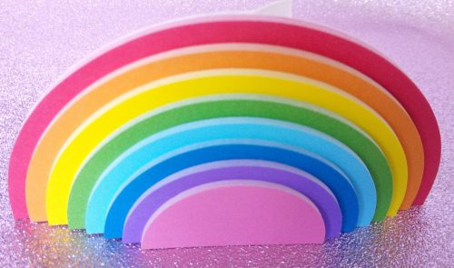 Mustard Stationary and Gifts Rainbow and Unicorn range review by Family Clan