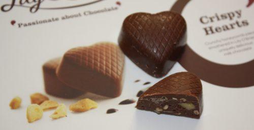 Lily O'Brien's Chocolate Crispy Hearts Family Clan