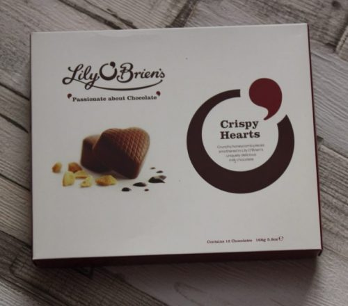 Lily O'Brien's Chocolate Crispy Hearts Family Clan