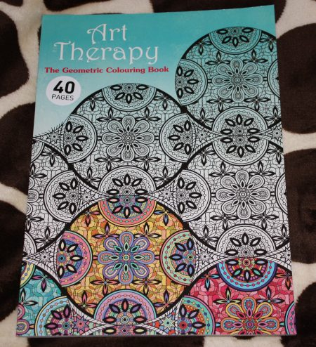 Adult Colouring Art Therapy March Giveaway Family Clan