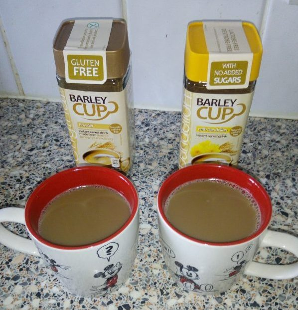 Barleycup caffeine & gluten free drinks review by Family Clan