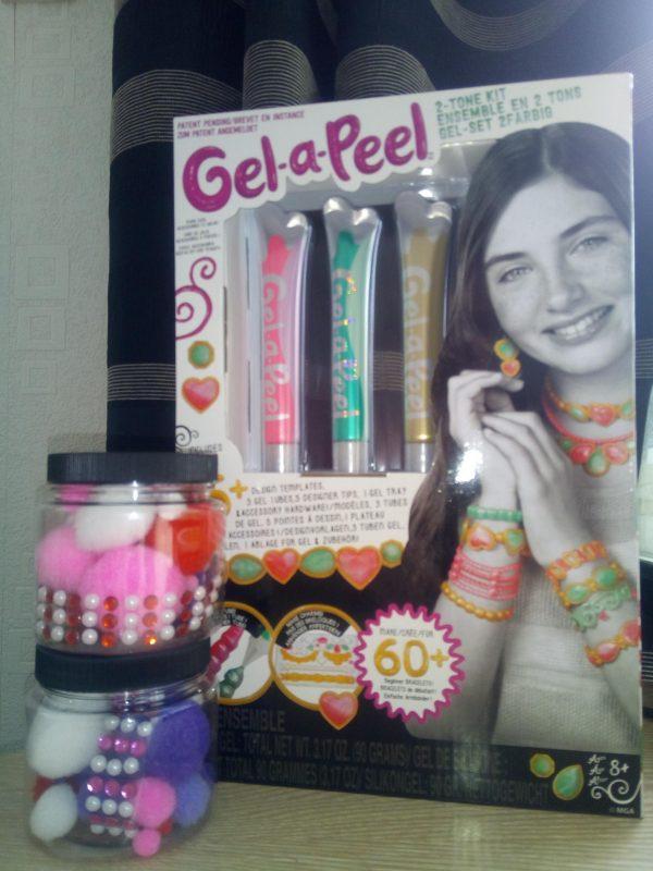 Gel-a-Peel 2-Tone Slime inspired jars! Family Clan