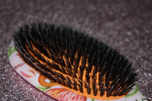 Rock & Ruddle Natural Hairbrush Pink Flamingo's Family Clan