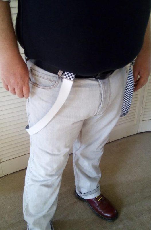 Dobell Menswear braces review by Family Clan