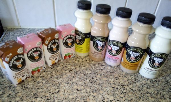 Shaken Udder milkshakes - Discover Deliciousness Family Clan